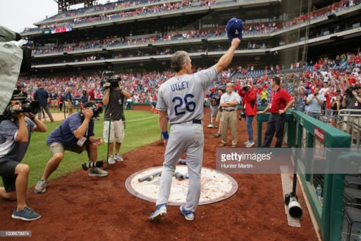 8603a038069 Chase Utley Rocking Into Retirement - 92.5 XTU