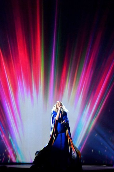 Carrie Underwood performs onstage during the 52nd annual CMA Awards at the Bridgestone Arena on November 14, 2018 in Nashville, Tennessee.  (Photo by Michael Loccisano/Getty Images)