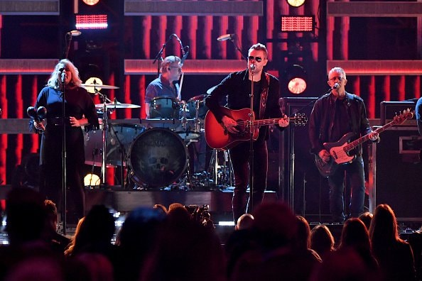 Eric Church performs onstage during the 52nd annual CMA Awards at the Bridgestone Arena on November 14, 2018 in Nashville, Tennessee.  (Photo by Michael Loccisano/Getty Images)