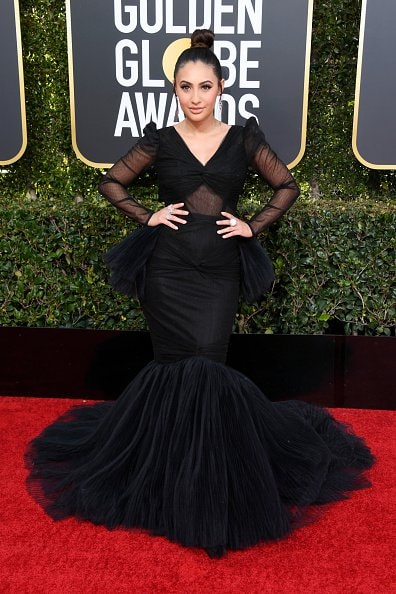 BEVERLY HILLS, CA - JANUARY 06:  Francia Raisa attends the 76th Annual Golden Globe Awards at The Beverly Hilton Hotel on January 6, 2019 in Beverly Hills, California.  (Photo by Jon Kopaloff/Getty Images)
