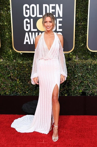 BEVERLY HILLS, CA - JANUARY 06:  Rene Bargh attends the 76th Annual Golden Globe Awards at The Beverly Hilton Hotel on January 6, 2019 in Beverly Hills, California.  (Photo by Jon Kopaloff/Getty Images)