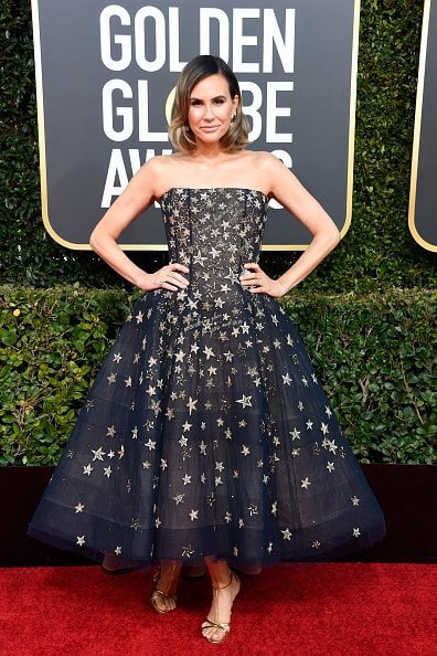 BEVERLY HILLS, CA - JANUARY 06:  Keltie Knight attends the 76th Annual Golden Globe Awards at The Beverly Hilton Hotel on January 6, 2019 in Beverly Hills, California.  (Photo by Frazer Harrison/Getty Images)