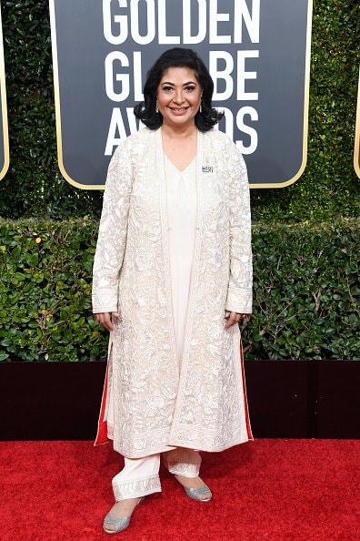 BEVERLY HILLS, CA - JANUARY 06:  HFPA President Meher Tatna attends the 76th Annual Golden Globe Awards at The Beverly Hilton Hotel on January 6, 2019 in Beverly Hills, California.  (Photo by Frazer Harrison/Getty Images)