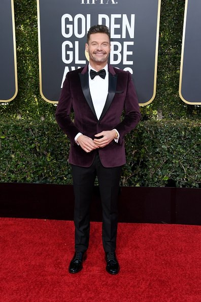 BEVERLY HILLS, CA - JANUARY 06:  Ryan Seacrest attends the 76th Annual Golden Globe Awards at The Beverly Hilton Hotel on January 6, 2019 in Beverly Hills, California.  (Photo by Jon Kopaloff/Getty Images)