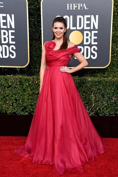 BEVERLY HILLS, CA - JANUARY 06:  Carly Steel attends the 76th Annual Golden Globe Awards at The Beverly Hilton Hotel on January 6, 2019 in Beverly Hills, California.  (Photo by Frazer Harrison/Getty Images)