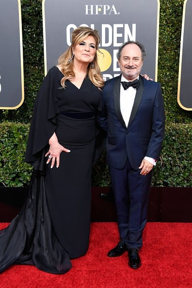 BEVERLY HILLS, CA - JANUARY 06:  Caroline Aaron (L) and Kevin Pollak attend the 76th Annual Golden Globe Awards at The Beverly Hilton Hotel on January 6, 2019 in Beverly Hills, California.  (Photo by Frazer Harrison/Getty Images)