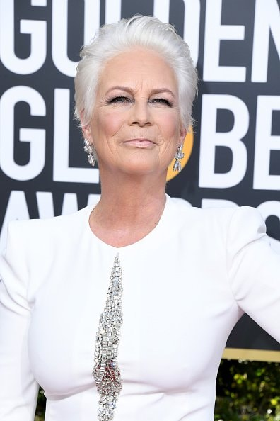 BEVERLY HILLS, CA - JANUARY 06: Jamie Lee Curtis attends the 76th Annual Golden Globe Awards at The Beverly Hilton Hotel on January 6, 2019 in Beverly Hills, California.  (Photo by Jon Kopaloff/Getty Images)
