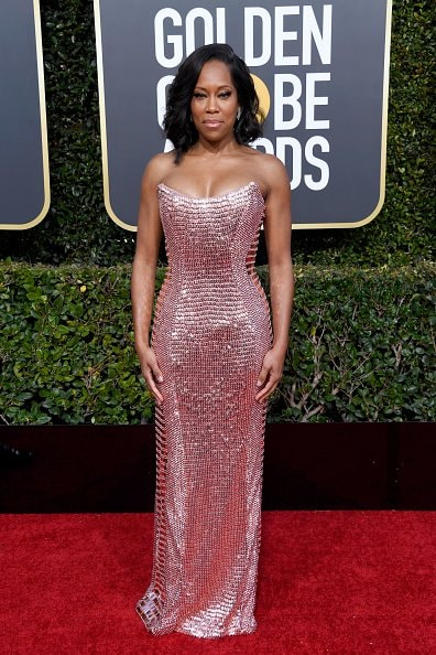 BEVERLY HILLS, CA - JANUARY 06:  Regina King attends the 76th Annual Golden Globe Awards at The Beverly Hilton Hotel on January 6, 2019 in Beverly Hills, California.  (Photo by Frazer Harrison/Getty Images)