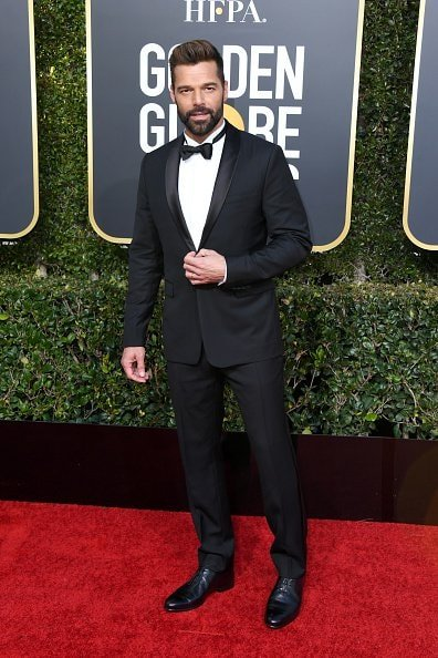 BEVERLY HILLS, CA - JANUARY 06:  Ricky Martin attends the 76th Annual Golden Globe Awards at The Beverly Hilton Hotel on January 6, 2019 in Beverly Hills, California.  (Photo by Jon Kopaloff/Getty Images)