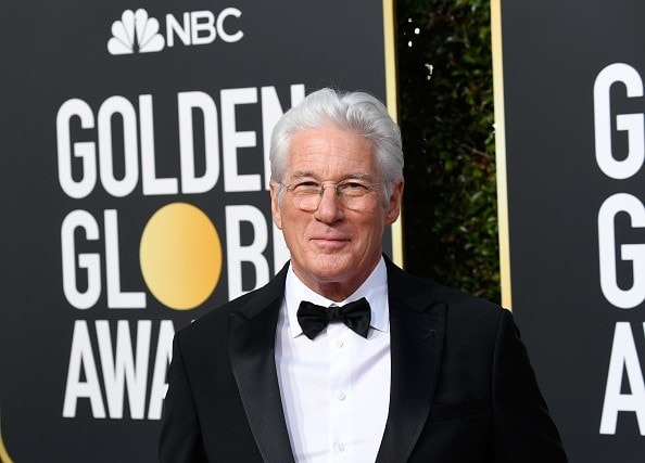 BEVERLY HILLS, CA - JANUARY 06:  Richard Gere attends the 76th Annual Golden Globe Awards at The Beverly Hilton Hotel on January 6, 2019 in Beverly Hills, California.  (Photo by Frazer Harrison/Getty Images)