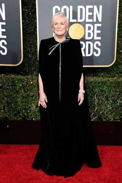 BEVERLY HILLS, CA - JANUARY 06:  Glenn Close attends the 76th Annual Golden Globe Awards at The Beverly Hilton Hotel on January 6, 2019 in Beverly Hills, California.  (Photo by Frazer Harrison/Getty Images)