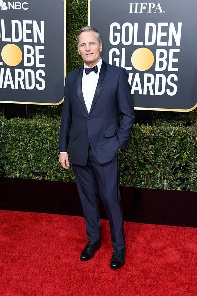 BEVERLY HILLS, CA - JANUARY 06: Viggo Mortensen attends the 76th Annual Golden Globe Awards at The Beverly Hilton Hotel on January 6, 2019 in Beverly Hills, California.  (Photo by Jon Kopaloff/Getty Images)