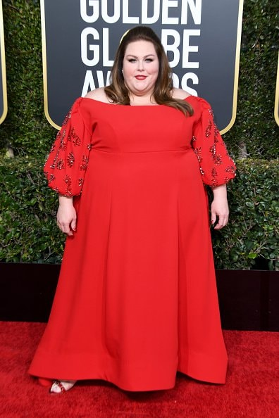 BEVERLY HILLS, CA - JANUARY 06: Chrissy Metz attends the 76th Annual Golden Globe Awards at The Beverly Hilton Hotel on January 6, 2019 in Beverly Hills, California.  (Photo by Jon Kopaloff/Getty Images)