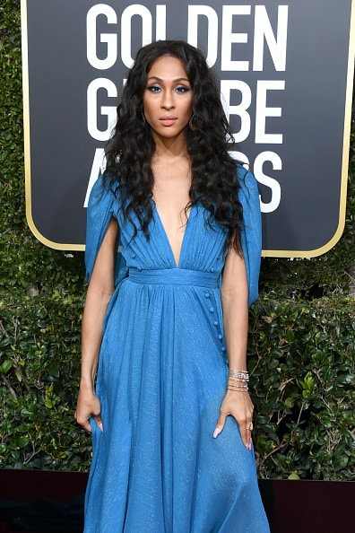 BEVERLY HILLS, CA - JANUARY 06:  Mj Rodriguez attends the 76th Annual Golden Globe Awards at The Beverly Hilton Hotel on January 6, 2019 in Beverly Hills, California.  (Photo by Jon Kopaloff/Getty Images)