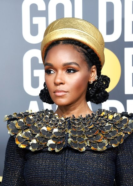 BEVERLY HILLS, CA - JANUARY 06:  Janelle Monae attends the 76th Annual Golden Globe Awards at The Beverly Hilton Hotel on January 6, 2019 in Beverly Hills, California.  (Photo by Frazer Harrison/Getty Images)