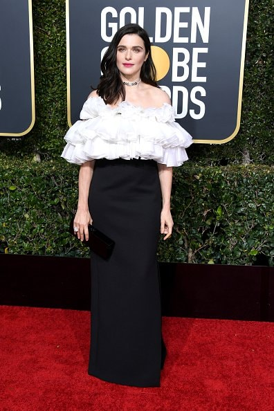 BEVERLY HILLS, CA - JANUARY 06:  Rachel Weisz attends the 76th Annual Golden Globe Awards at The Beverly Hilton Hotel on January 6, 2019 in Beverly Hills, California.  (Photo by Jon Kopaloff/Getty Images)