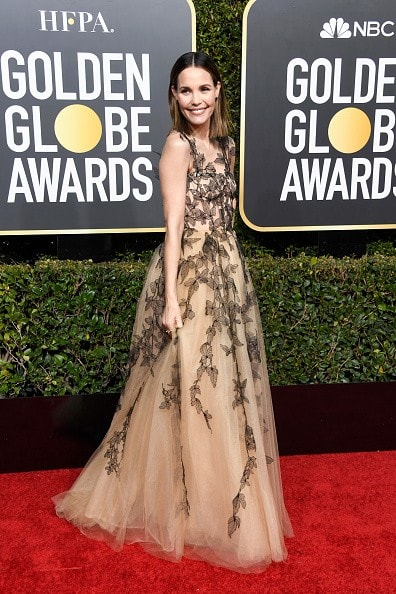 BEVERLY HILLS, CA - JANUARY 06:  Leslie Bibb attends the 76th Annual Golden Globe Awards at The Beverly Hilton Hotel on January 6, 2019 in Beverly Hills, California.  (Photo by Frazer Harrison/Getty Images)