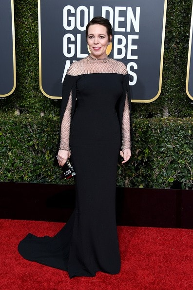 BEVERLY HILLS, CA - JANUARY 06:  Olivia Colman attends the 76th Annual Golden Globe Awards at The Beverly Hilton Hotel on January 6, 2019 in Beverly Hills, California.  (Photo by Jon Kopaloff/Getty Images)