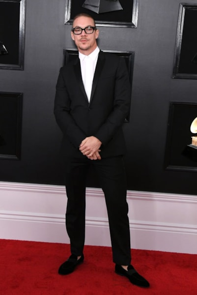 LOS ANGELES, CALIFORNIA - FEBRUARY 10: Diplo attends the 61st Annual GRAMMY Awards at Staples Center on February 10, 2019 in Los Angeles, California. (Photo by Jon Kopaloff/Getty Images)