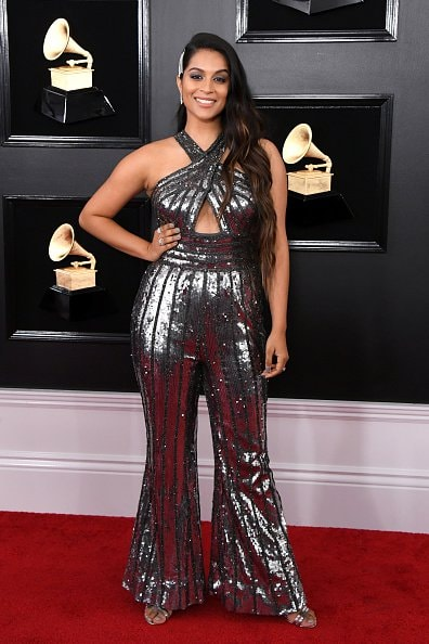 LOS ANGELES, CALIFORNIA - FEBRUARY 10: Lilly Singh attends the 61st Annual GRAMMY Awards at Staples Center on February 10, 2019 in Los Angeles, California. (Photo by Jon Kopaloff/Getty Images)