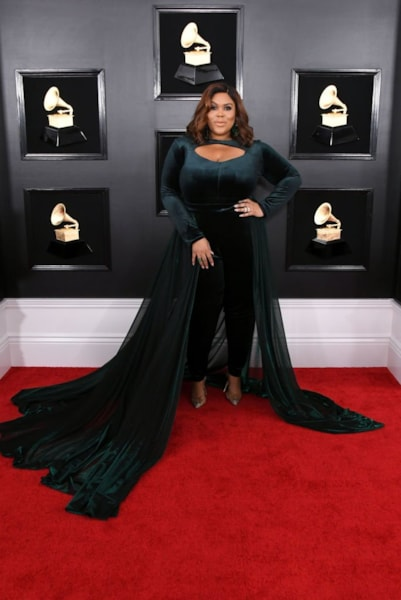 LOS ANGELES, CALIFORNIA - FEBRUARY 10: Nina Parker attends the 61st Annual GRAMMY Awards at Staples Center on February 10, 2019 in Los Angeles, California. (Photo by Jon Kopaloff/Getty Images)