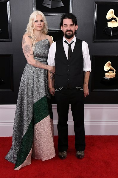 LOS ANGELES, CALIFORNIA - FEBRUARY 10: Shooter Jennings (R) and Misty Swain attend the 61st Annual GRAMMY Awards at Staples Center on February 10, 2019 in Los Angeles, California. (Photo by Jon Kopaloff/Getty Images)