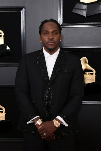 LOS ANGELES, CALIFORNIA - FEBRUARY 10: Pusha T attends the 61st Annual GRAMMY Awards at Staples Center on February 10, 2019 in Los Angeles, California. (Photo by Jon Kopaloff/Getty Images)