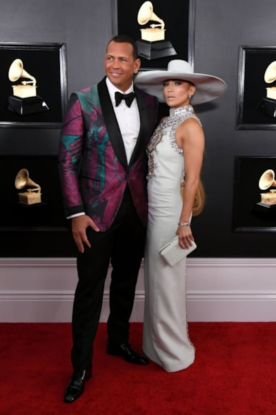 LOS ANGELES, CALIFORNIA - FEBRUARY 10: Alex Rodriguez and Jennifer Lopez attend the 61st Annual GRAMMY Awards at Staples Center on February 10, 2019 in Los Angeles, California. (Photo by Jon Kopaloff/Getty Images)