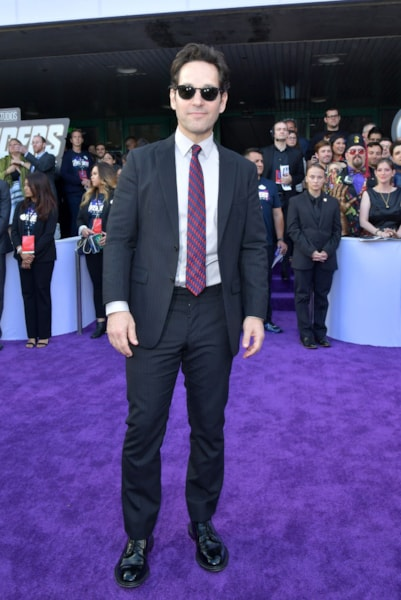 "LOS ANGELES, CA - APRIL 22:  Paul Rudd attends the world premiere of Walt Disney Studios Motion Pictures ""Avengers: Endgame"" at the Los Angeles Convention Center on April 22, 2019 in Los Angeles, California.  (Photo by Amy Sussman/Getty Images)"