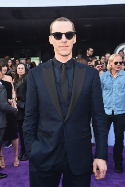 "LOS ANGELES, CA - APRIL 22:  Benedict Cumberbatch attends the Los Angeles World Premiere of Marvel Studios' ""Avengers: Endgame"" at the Los Angeles Convention Center on April 23, 2019 in Los Angeles, California.  (Photo by Alberto E. Rodriguez/Getty Images for Disney)"