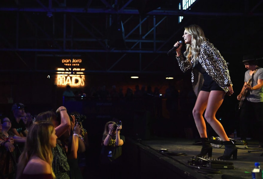 Carly Pearce at Pandora Presents: Backroads at Marathon Music Works on June 5, 2018 in Nashville, Tennessee.