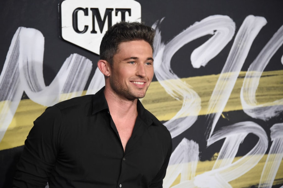 NASHVILLE, TN - JUNE 06:  Michael Ray attends the 2018 CMT Music Awards at Bridgestone Arena on June 6, 2018 in Nashville, Tennessee.  (Photo by Mike Coppola/Getty Images for CMT)