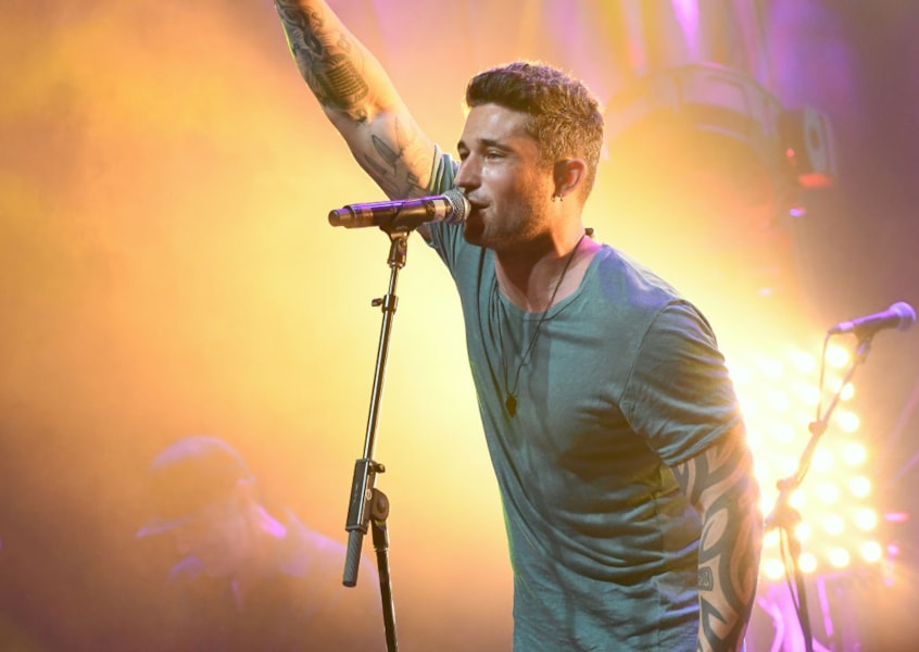 NASHVILLE, TN - JUNE 07:  Michael Ray performs onstage at the GLAAD + TY HERNDON's 2018 Concert for Love & Acceptance at Wildhorse Saloon on June 7, 2018 in Nashville, Tennessee.  (Photo by Rick Diamond/Getty Images for The 2018 Concert for Love & Acceptance)
