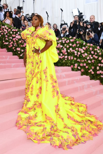 NEW YORK, NEW YORK - MAY 06: Serena Williams attends The 2019 Met Gala Celebrating Camp: Notes on Fashion at Metropolitan Museum of Art on May 06, 2019 in New York City. (Photo by Dimitrios Kambouris/Getty Images for The Met Museum/Vogue)