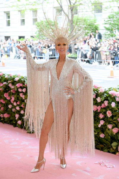 NEW YORK, NEW YORK - MAY 06: Celine Dion attends The 2019 Met Gala Celebrating Camp: Notes on Fashion at Metropolitan Museum of Art on May 06, 2019 in New York City. (Photo by Neilson Barnard/Getty Images)