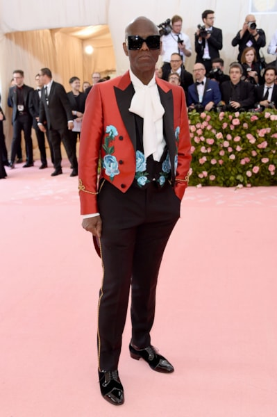 NEW YORK, NEW YORK - MAY 06: Dapper Dan attends The 2019 Met Gala Celebrating Camp: Notes on Fashion at Metropolitan Museum of Art on May 06, 2019 in New York City. (Photo by Jamie McCarthy/Getty Images)