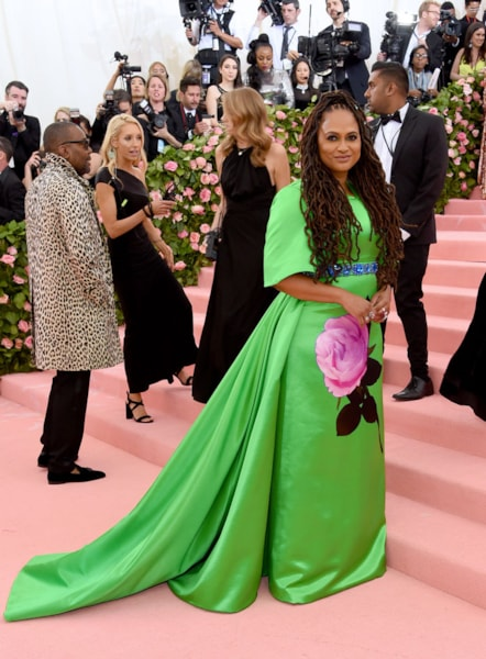 NEW YORK, NEW YORK - MAY 06: Ava DuVernay attends The 2019 Met Gala Celebrating Camp: Notes on Fashion at Metropolitan Museum of Art on May 06, 2019 in New York City. (Photo by Jamie McCarthy/Getty Images)