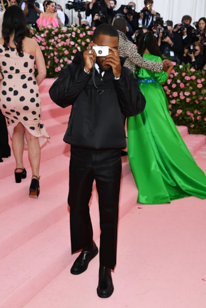 NEW YORK, NEW YORK - MAY 06: Frank Ocean attends The 2019 Met Gala Celebrating Camp: Notes on Fashion at Metropolitan Museum of Art on May 06, 2019 in New York City. (Photo by Dimitrios Kambouris/Getty Images for The Met Museum/Vogue)