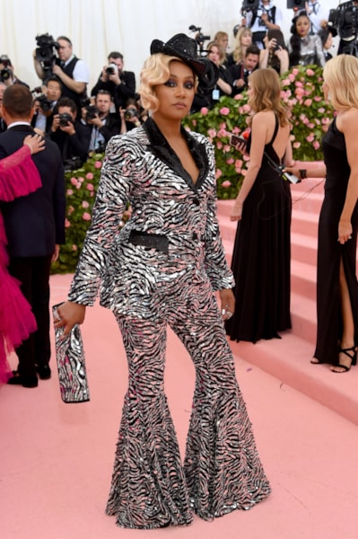 NEW YORK, NEW YORK - MAY 06: Tiffany Haddish attends The 2019 Met Gala Celebrating Camp: Notes on Fashion at Metropolitan Museum of Art on May 06, 2019 in New York City. (Photo by Jamie McCarthy/Getty Images)