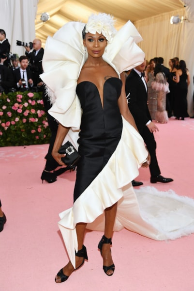 NEW YORK, NEW YORK - MAY 06: Dominique Jackson attends The 2019 Met Gala Celebrating Camp: Notes on Fashion at Metropolitan Museum of Art on May 06, 2019 in New York City. (Photo by Dimitrios Kambouris/Getty Images for The Met Museum/Vogue)