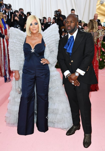NEW YORK, NEW YORK - MAY 06: Kris Jenner and Corey Gamble attend The 2019 Met Gala Celebrating Camp: Notes on Fashion at Metropolitan Museum of Art on May 06, 2019 in New York City. (Photo by Dimitrios Kambouris/Getty Images for The Met Museum/Vogue)