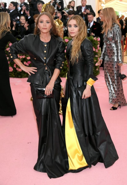NEW YORK, NEW YORK - MAY 06: Mary Kate Olsen and Ashley Olsen attend The 2019 Met Gala Celebrating Camp: Notes on Fashion at Metropolitan Museum of Art on May 06, 2019 in New York City. (Photo by Neilson Barnard/Getty Images)