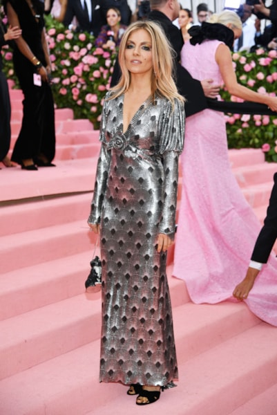 NEW YORK, NEW YORK - MAY 06: Sienna Miller attends The 2019 Met Gala Celebrating Camp: Notes on Fashion at Metropolitan Museum of Art on May 06, 2019 in New York City. (Photo by Dimitrios Kambouris/Getty Images for The Met Museum/Vogue)
