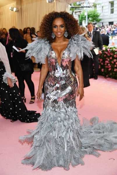 NEW YORK, NEW YORK - MAY 06: Janet Mock attends The 2019 Met Gala Celebrating Camp: Notes on Fashion at Metropolitan Museum of Art on May 06, 2019 in New York City. (Photo by Dimitrios Kambouris/Getty Images for The Met Museum/Vogue)