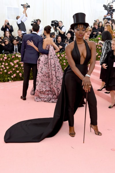 NEW YORK, NEW YORK - MAY 06: Danai Gurira attends The 2019 Met Gala Celebrating Camp: Notes on Fashion at Metropolitan Museum of Art on May 06, 2019 in New York City. (Photo by Jamie McCarthy/Getty Images)