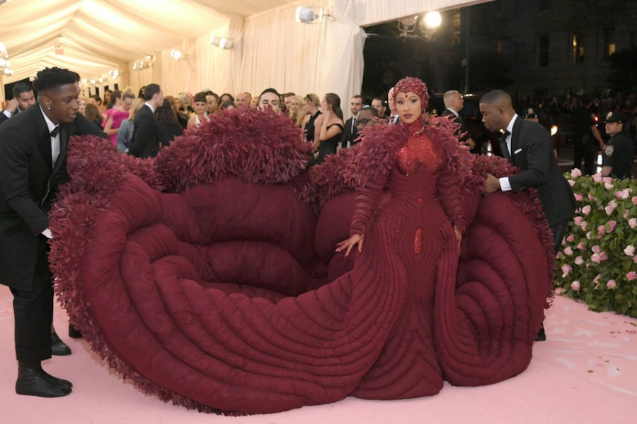 NEW YORK, NEW YORK - MAY 06: Cardi B attends The 2019 Met Gala Celebrating Camp: Notes on Fashion at Metropolitan Museum of Art on May 06, 2019 in New York City. (Photo by Neilson Barnard/Getty Images)