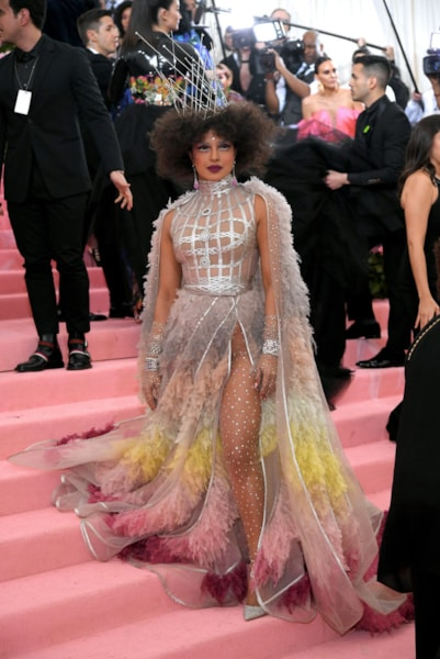 NEW YORK, NEW YORK - MAY 06: Priyanka Chopra attends The 2019 Met Gala Celebrating Camp: Notes on Fashion at Metropolitan Museum of Art on May 06, 2019 in New York City. (Photo by Neilson Barnard/Getty Images)