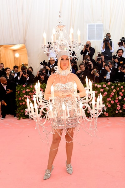 NEW YORK, NEW YORK - MAY 06: Katy Perry attends The 2019 Met Gala Celebrating Camp: Notes on Fashion at Metropolitan Museum of Art on May 06, 2019 in New York City. (Photo by Jamie McCarthy/Getty Images)