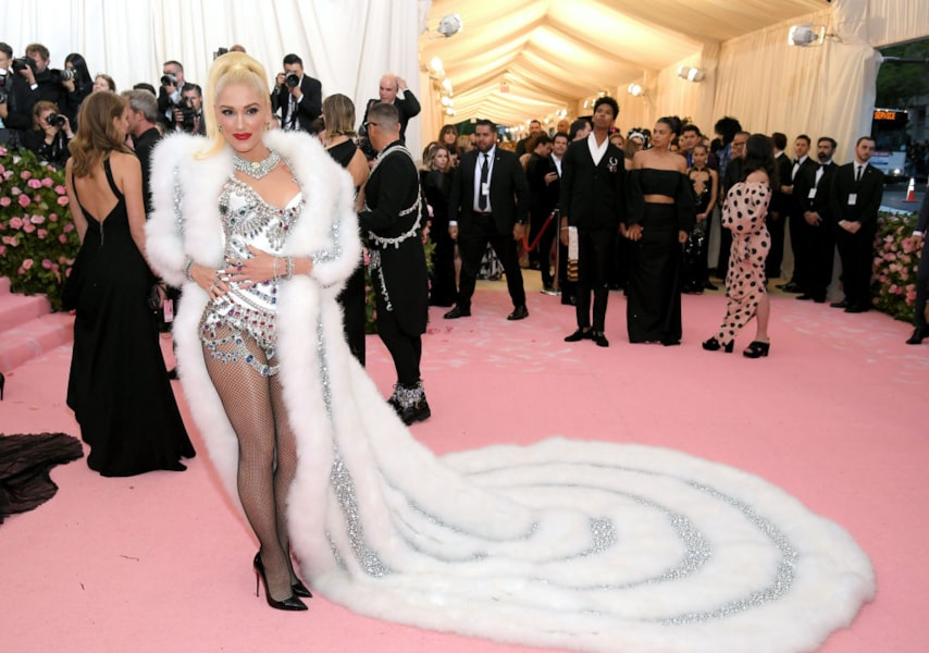 NEW YORK, NEW YORK - MAY 06: Gwen Stefani attends The 2019 Met Gala Celebrating Camp: Notes on Fashion at Metropolitan Museum of Art on May 06, 2019 in New York City. (Photo by Neilson Barnard/Getty Images)
