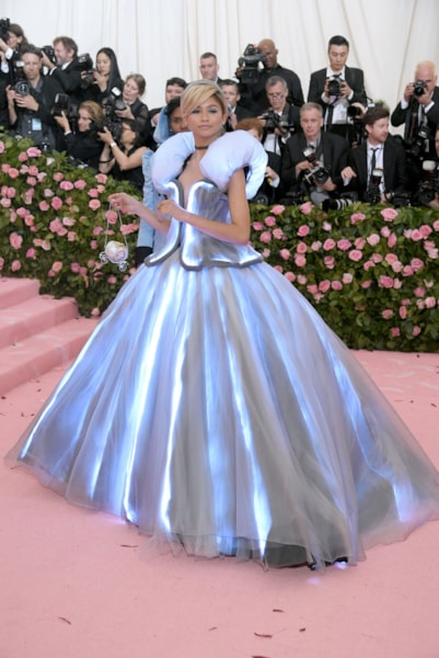 NEW YORK, NEW YORK - MAY 06: Zendaya attends The 2019 Met Gala Celebrating Camp: Notes on Fashion at Metropolitan Museum of Art on May 06, 2019 in New York City. (Photo by Neilson Barnard/Getty Images)